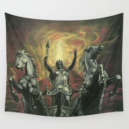 Boudica & Vesuvius Wall Tapestry