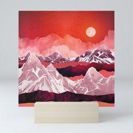 Scarlet Glow Mini Art Print