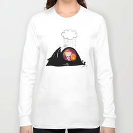 waiting for spring to arrive Long Sleeve T-shirt