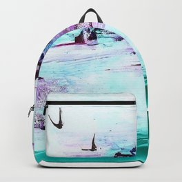 Green coral reef Backpack