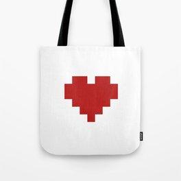 Love Pattern Tote Bag