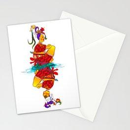 El Baile De Las Quimeras Stationery Cards