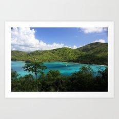 Maho Bay Art Print