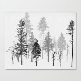 Dark and Deep Canvas Print