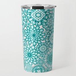 Ceramic Flowers (Atoll) Travel Mug
