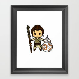 Force Duo Framed Art Print