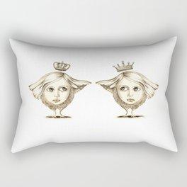 Siamese Queens Rectangular Pillow