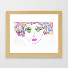 Colores Framed Art Print