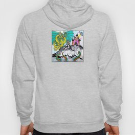 heart attack (square) Hoody