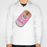 vans Hoodies featuring Cute pink Vans all star baby shoes apple iPhone 4 4s 5 5s 5c, ipod, ipad, pillow case and tshirt by Three Second