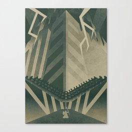 The Concrete Jungle Canvas Print