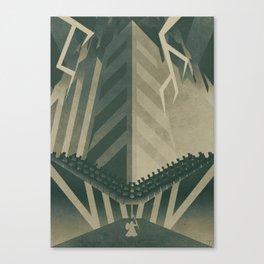 The Concrete Jungle Canvas Print