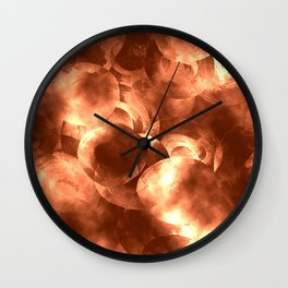 Thoughtless Pennies Wall Clock