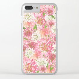 Clovers Meadow Clear iPhone Case