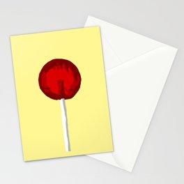 Cherry sucker lefty Stationery Cards