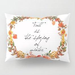 Flower fall Pillow Sham