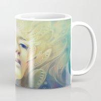 crown Mugs featuring Crown by Anna Dittmann