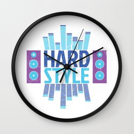 Hardstyle Equalizer | Electro Techno Party Wall Clock