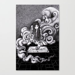 Beauty and the Board / Beauty and the Beast Canvas Print