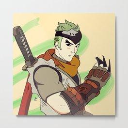 Genji Metal Print