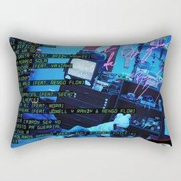 Bunny Bad Rectangular Pillow