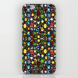 Stained Glass-3 iPhone Skin