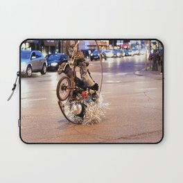 Performance Art on the Streets of Bucktown, Chicago 02 Laptop Sleeve