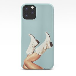 These Boots - Blue iPhone Case