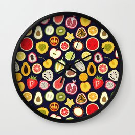 Fruity Cuties Wall Clock