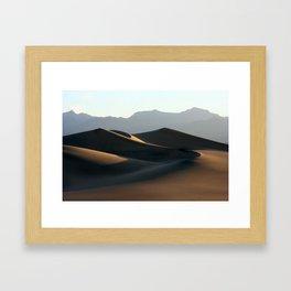 Death Valley Sunrise Framed Art Print