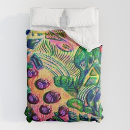 Riverside confusion Comforters