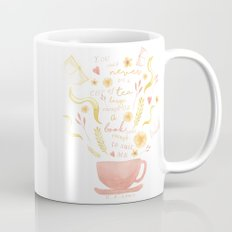 Hard To Find Books And Tea Mug