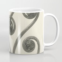 Vintage Fern Fiddleheads Coffee Mug