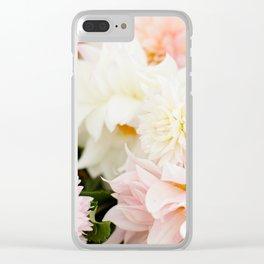 Dahlia Bouquet Clear iPhone Case