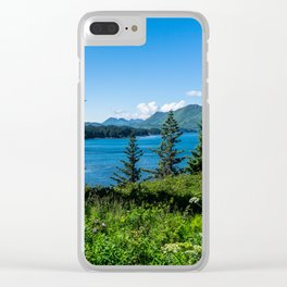 3 Trees-Wide Angle Clear iPhone Case