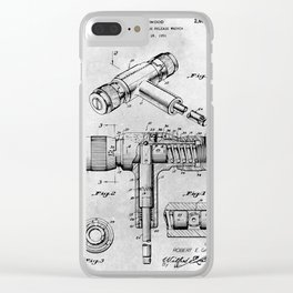 Torque Wrench Clear iPhone Case