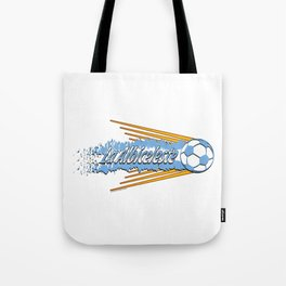 Argentina La Albiceleste(The White and Sky-Blue) ~Group D~ Tote Bag