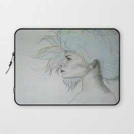 Colorful Girl Laptop Sleeve