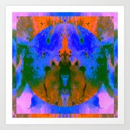 Are U Ok Art Print