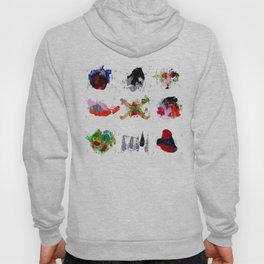 9 abstract rituals Hoody