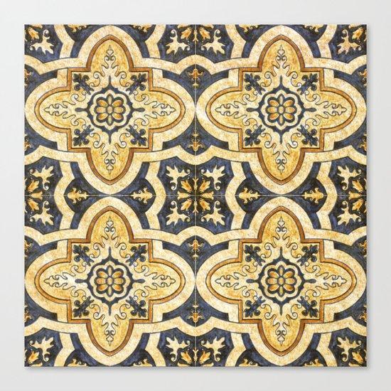 Ornamental pattern Canvas Print