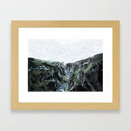 Jumpsuit Valley Framed Art Print