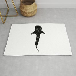 Whale Shark T Shirt Watching Whales Free Diver Diving Womens Men Rug