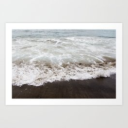 Brown Beach Art Print