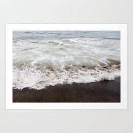 Brown Beach Art Print