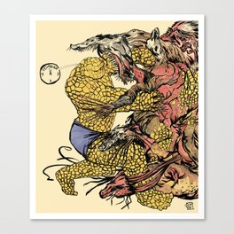 The Thing Vs. The Thing Canvas Print