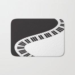 PIANO KEYS Pop Art Bath Mat