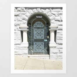 grand entrance in san francisco Art Print