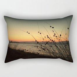 Dusk Down the Shore Rectangular Pillow