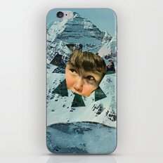 Child in the Wild Snow iPhone & iPod Skin